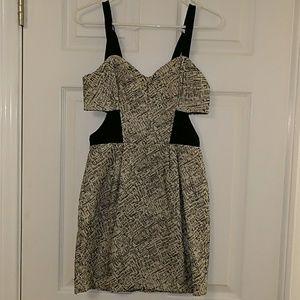 Rebecca Minkoff open side dress